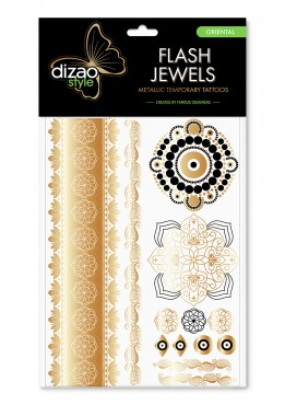 Dizao Gold Tattoo. ORIENTAL.
