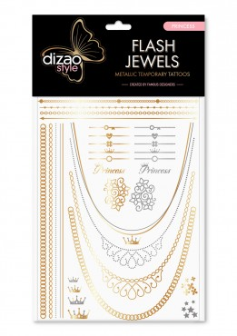 Dizao Gold Tattoo. PRINCESS.